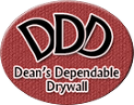 Logo Dean's Dependable Drywall